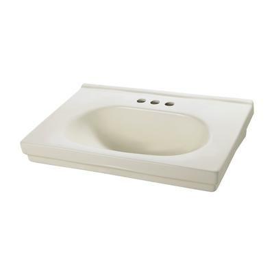 Foremost International - Structure Suite 20 Inch Pedestal Sink Basin ...