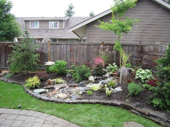 Low budget garden ideas - Small Backyard Makeovers Outdoors Pinterest