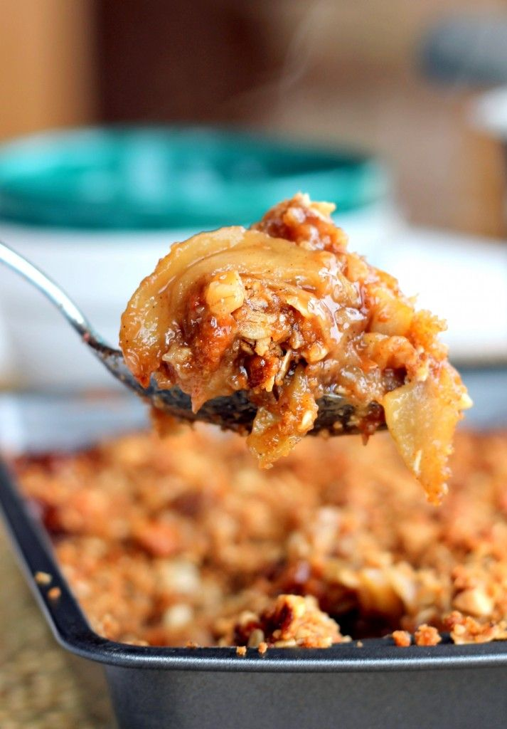 The Best Apple Crisp You'll Ever Have {with brown butter, vanilla ...