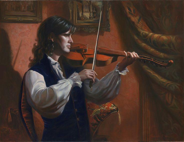 Olga Rybakova (b.1972 )  —  Viva Baroque, 2014  (1000x772)