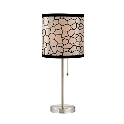 classics lighting pull chain table lamp with honeycomb drum lamp. Black Bedroom Furniture Sets. Home Design Ideas
