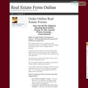 Real estate forms bonus http inoii com go php target reoform