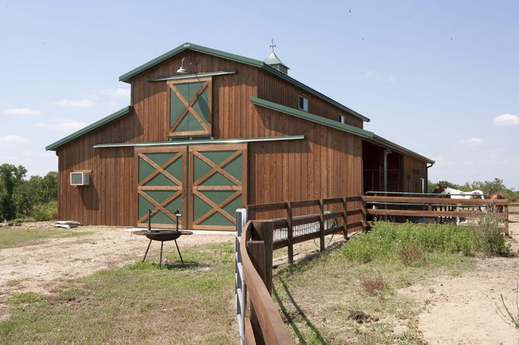 Morton buildings horse barn in texas someday maybe for Horse barn building