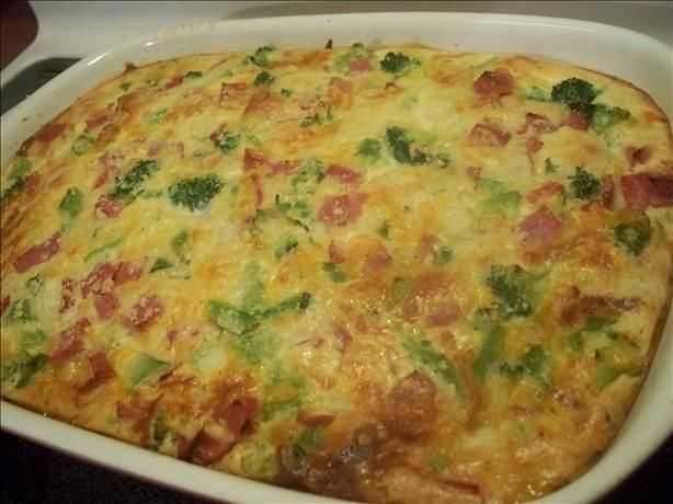 Ham and Broccoli Bake from Food.com: An easy casserole that uses ...