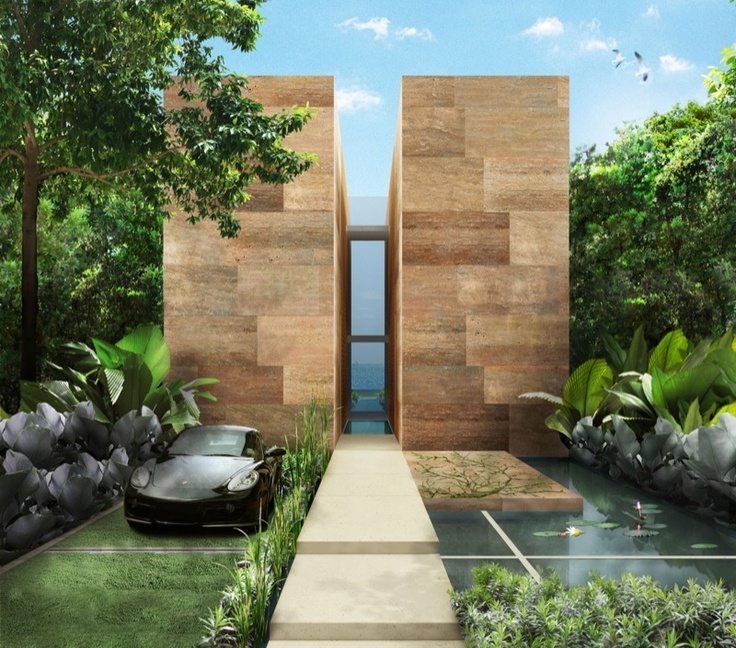 Front entrance jamie durie design outdoor pinterest for Jamie durie garden designs