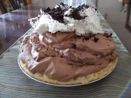 Mile-High Chocolate Pie | Toothache | Pinterest
