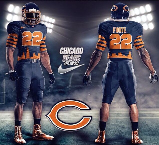 My Chicago Bears concept  c611a3775