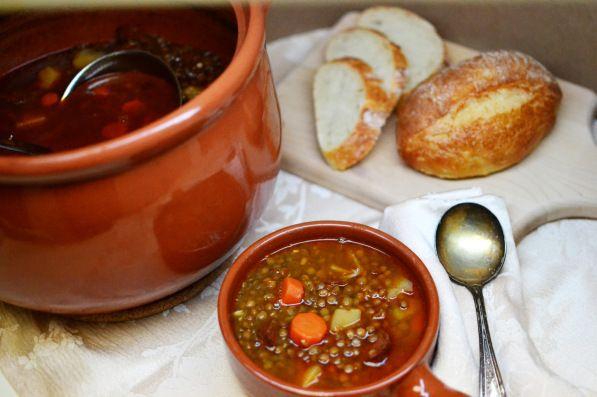 Lentejas con Chorizo (Spanish Lentil Soup) Recipe Soups with lentils ...