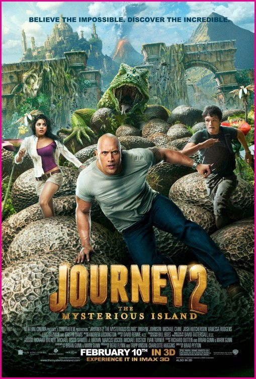 Watch Journey 2 The Mysterious Island (2012)  on the to watch list with my kid...