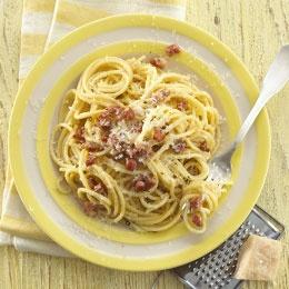 Spaghetti Cabonara (25 pasta dishes)