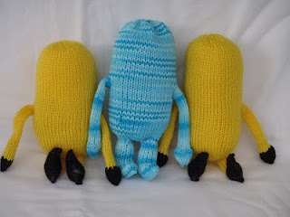 Knitting Pattern for Minions - Part 1
