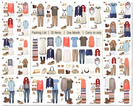Капсульный гардероб примеры и