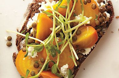 Roasted Beets and Lentils Sandwich — Punchfork
