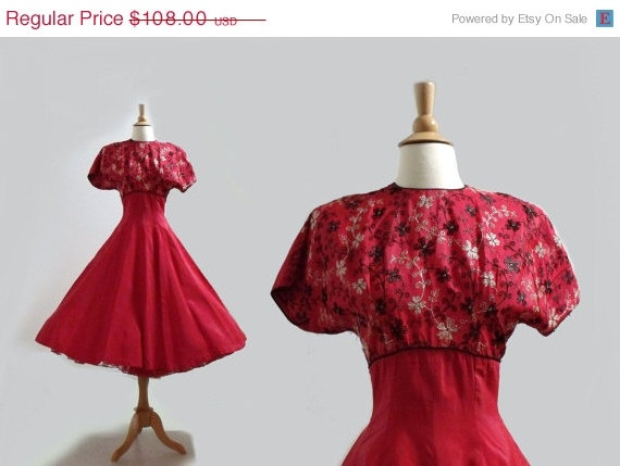 1940s vintage dress my style roses are red pinterest