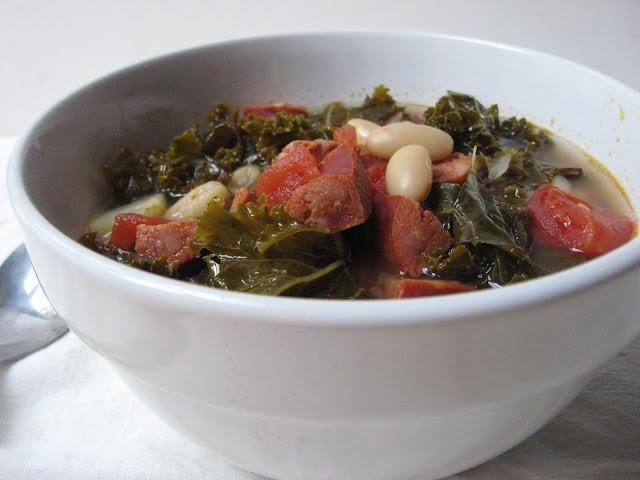 Portuguese Kale soup | my food blog | Pinterest