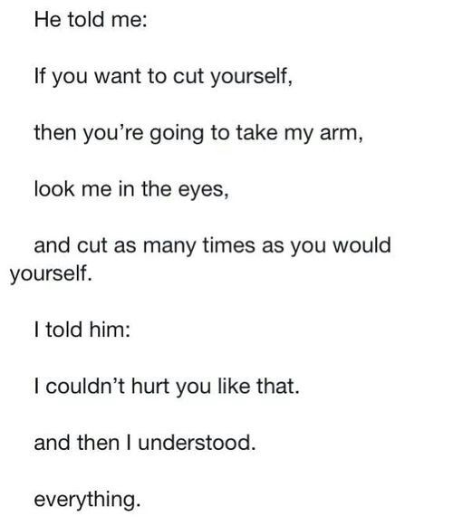 Self Harm Quotes And Sayings. QuotesGram