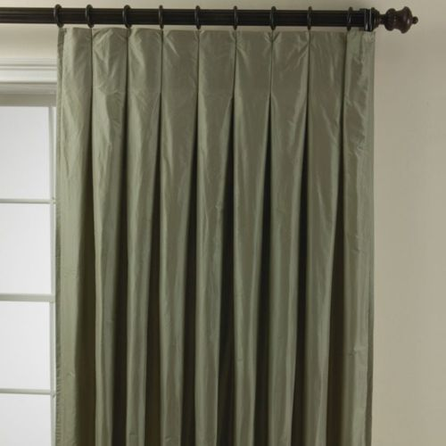 Box/inverted pleat curtains  DRAPERIES  Pinterest