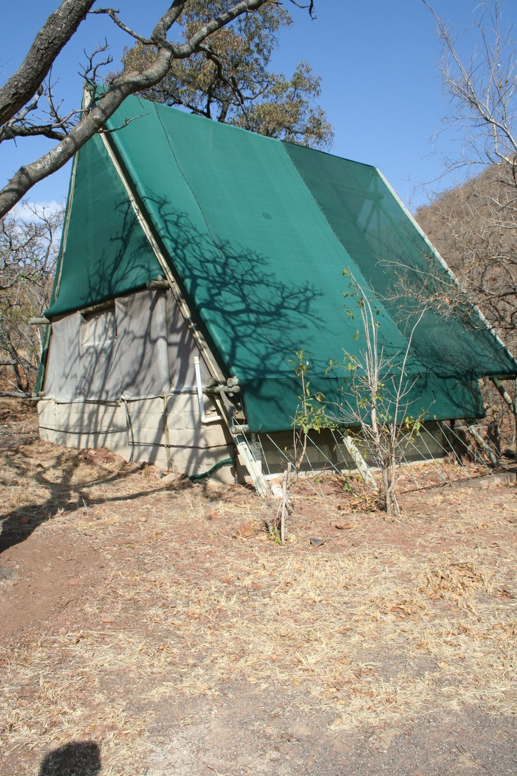 Permanent tent with en suite shower room 131000 tented for Semi permanent tent