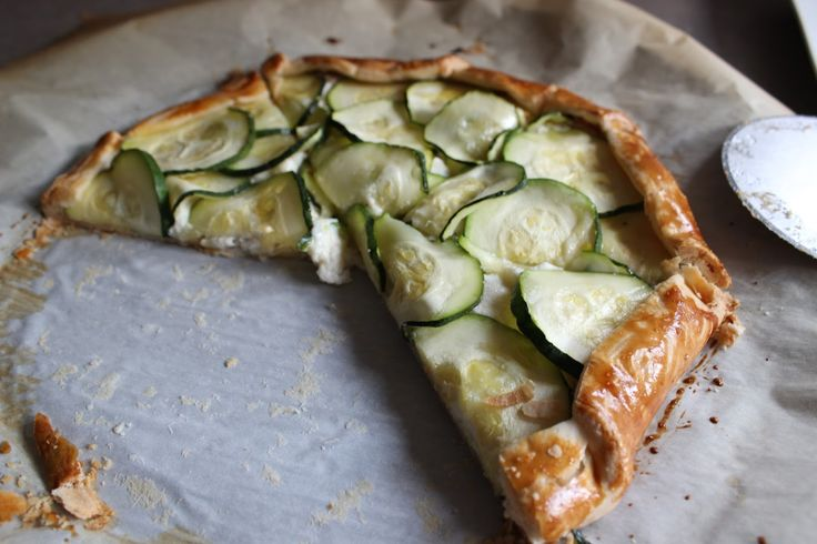 Zucchini And Ricotta Galette Recipe — Dishmaps
