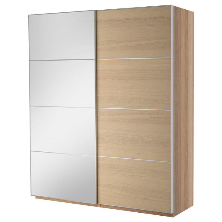 Pax wardrobe with sliding doors ikea cosas para la casa pintere - Ikea armoire 3 portes ...
