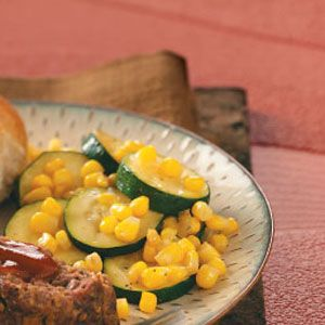 Zucchini Corn Saute Recipe...I leave out the cumin and add some ...