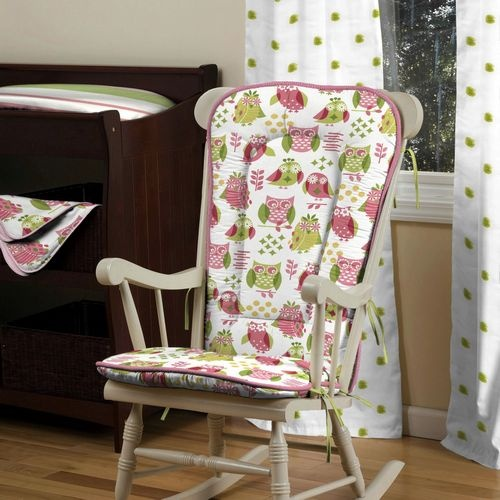 Girly Owl Rocking Chair Pad  Mrs. Longs Class  Pinterest