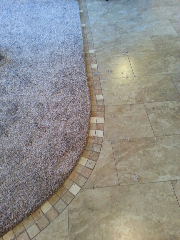 Carpet To Tile Transition For The Home Pinterest