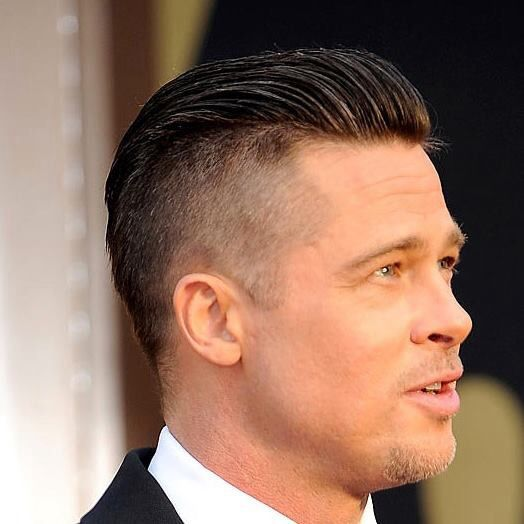cocktail party hairstyles : Brad Pitt and his clean cut look Mens Hair Styles Pinterest