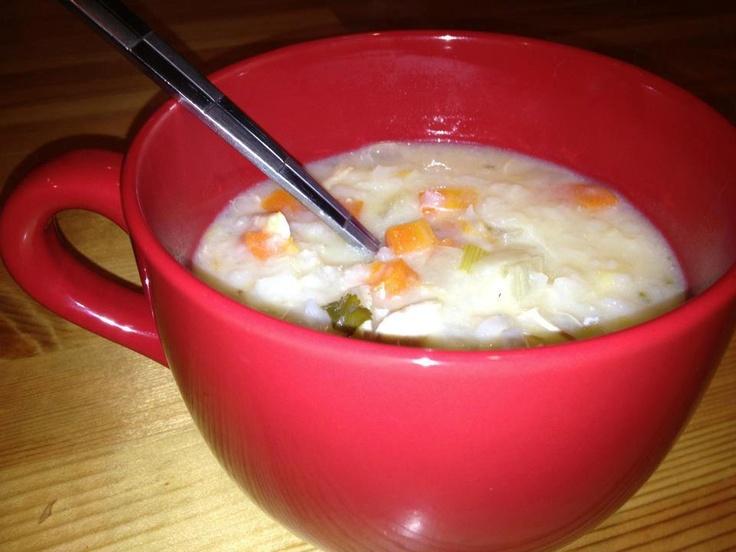 Greek Lemon Chicken soup | Soups De Loops | Pinterest
