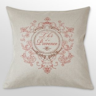 French laundry pink and burlap pillow!