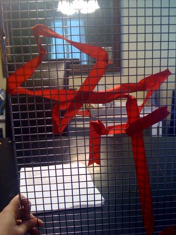 ribbon weaving activity to promote fine motor skills