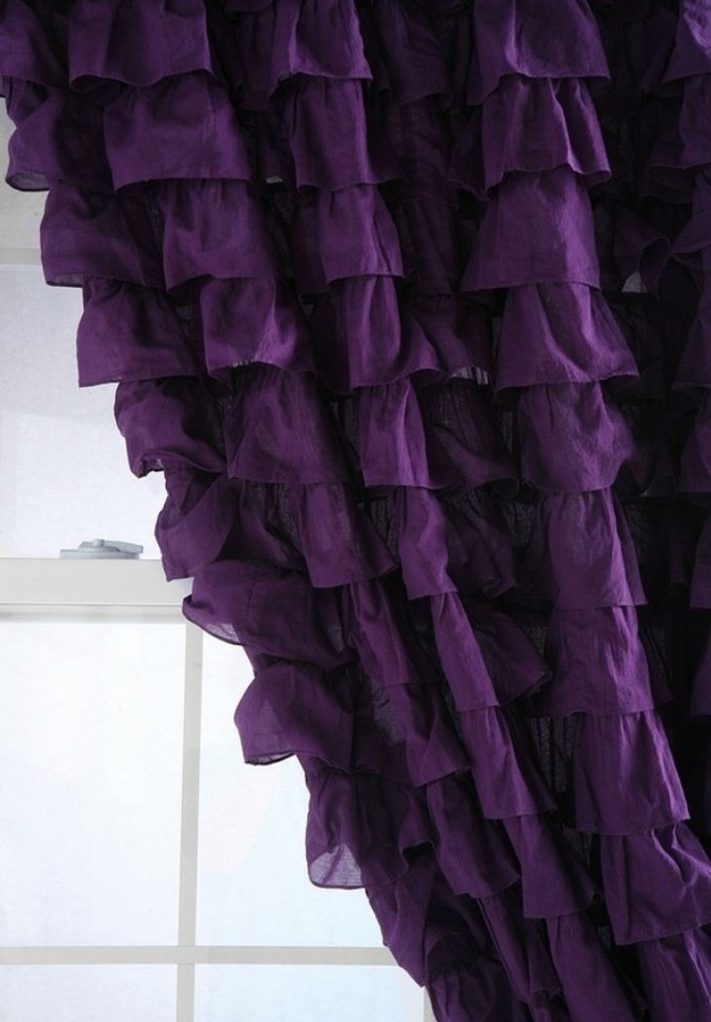 Curtains With Purple In Them Curtains with Lights in Them