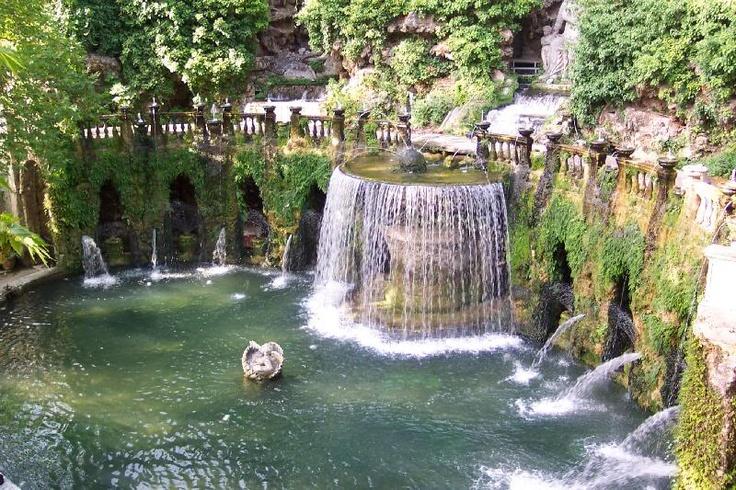 Fountain Of Youth Tivoli Gardens Italy Someday I