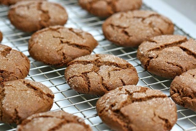 Ginger Molasses Cookies | cookies | Pinterest