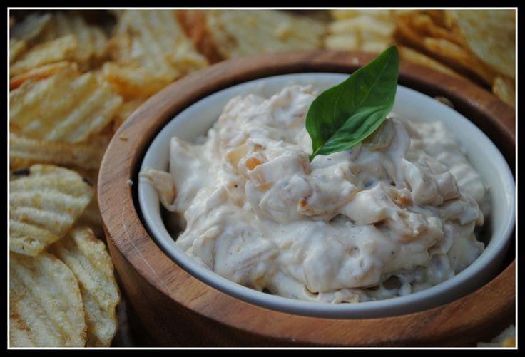 Caramelized Onion Dip | National Sweet Vidalia Onions Month | Pintere ...