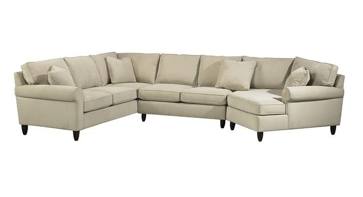 Living Room Furniture, Amalfi Sectional, Living Room Furniture | Havertys Furniture