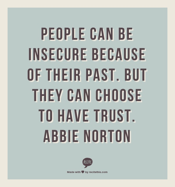 Insecurity Quotes And Sayings. QuotesGram