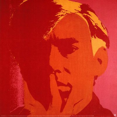 Pin by gabrielle elliot on portraits in colour menz for Andy warhol self portrait