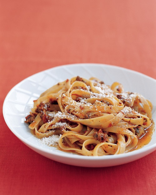 Pasta and Easy Italian Meat Sauce | Recipes and Ideas | Pinterest