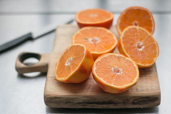 Tangerine Sorbet Recipe | food | Pinterest