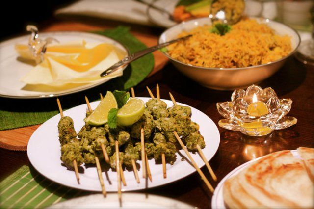 Chicken Hariyali Tikka Recipes — Dishmaps