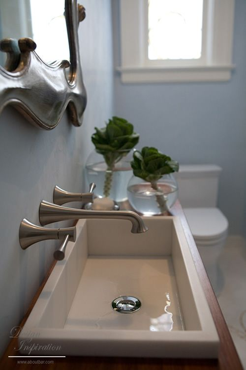 Narrow Bathroom Vanity For The Home Pinterest