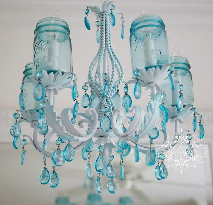 Aqua Inspiration In Spring Decor...