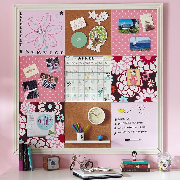 diy pin board idea the holly girls pinterest