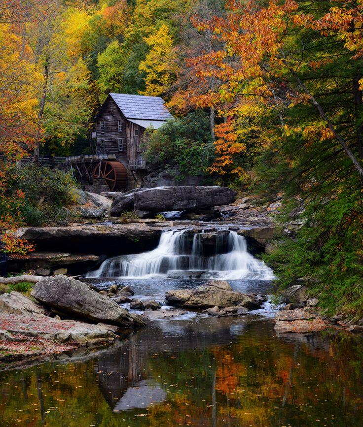 Babcock State Park, West Virginia | Autumn landscape