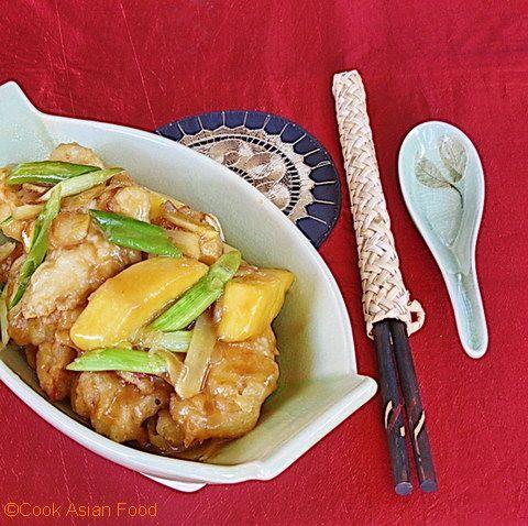 Mango Chicken - Chinese Style | Chinese Cuisine | Pinterest