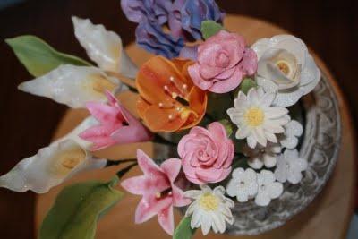 Gumpaste Flowers ~ Cakes by Carol