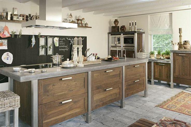Stoere Houten Keuken : ECO Keukens, specialist in houten keukens en lande – Keuken5