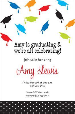 Graduation Cap Invitations as luxury invitations example