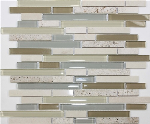 glass tiles for the kitchen